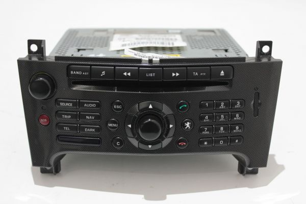 Peugeot 607 CD Navi Bedienteil Radio 96632921TP RT3-N3-11 Navigationssystem