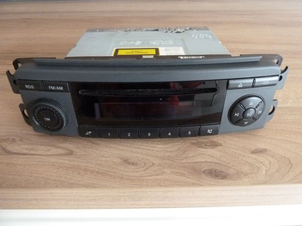 Smart Forfour 454 CD Player Radio A4548200379 Top
